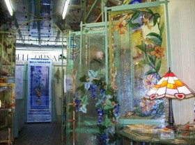 Ceramica Tiffany Civita Castellana.L Azienda Bell Ornato Vetro E Ceramica